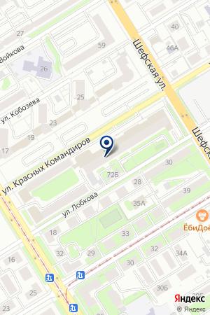 ЯСЕНЬ на карте Екатеринбурга
