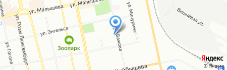 Канаты и Запчасти на карте Екатеринбурга