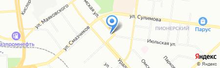 Микроакустика на карте Екатеринбурга