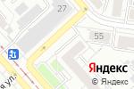 Схема проезда до компании Хешбон в Екатеринбурге