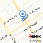 Клаксон на карте Екатеринбурга