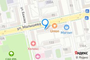 Сдается двухкомнатная квартира в Екатеринбурге м. Площадь 1905 года, Свердловская область, улица Малышева, 108