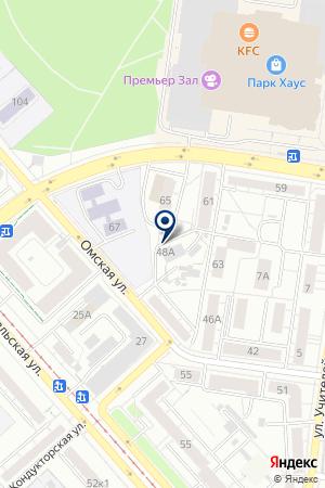 Нептун на карте Екатеринбурга