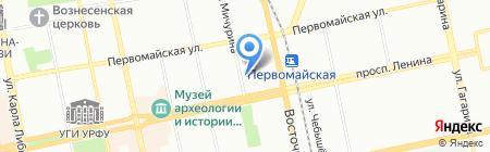 Дом паркета Премиум на карте Екатеринбурга