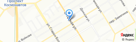 Step by step на карте Екатеринбурга