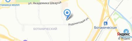 Планета Солнца на карте Екатеринбурга