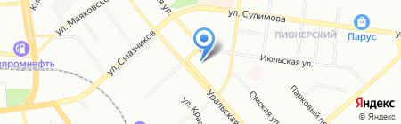 АВТО-выкуп на карте Екатеринбурга