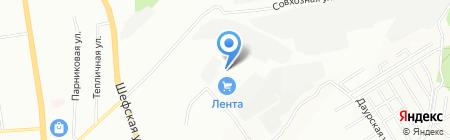 Амулет на карте Екатеринбурга