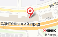 Схема проезда до компании Мерко в Екатеринбурге