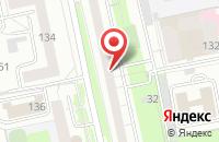 Схема проезда до компании Металл-Профиль в Екатеринбурге