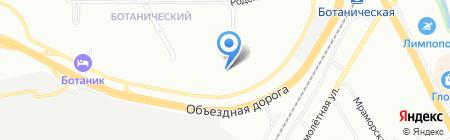 Средняя общеобразовательная школа №197 на карте Екатеринбурга