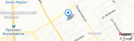 Прайд на карте Екатеринбурга