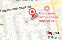 Схема проезда до компании Лт Принт в Екатеринбурге