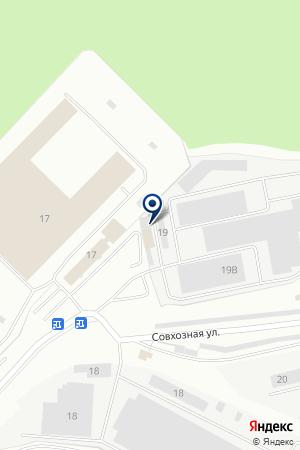 Волна на карте Екатеринбурга