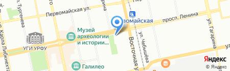 Аптечный Мир на карте Екатеринбурга
