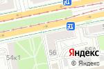 Схема проезда до компании Алхимия в Екатеринбурге