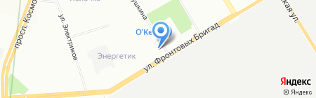 ТексРепабликУрал на карте Екатеринбурга