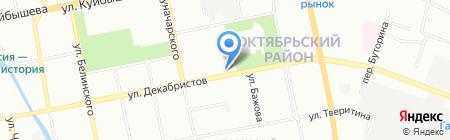 Джойнт на карте Екатеринбурга