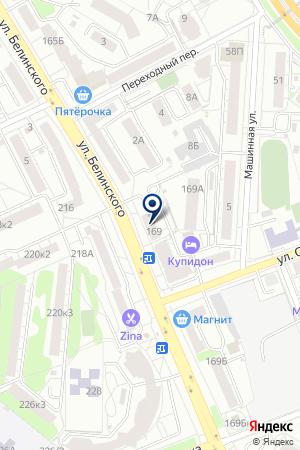 МАГАЗИН ЗЕБРА на карте Екатеринбурга