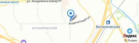 Радость на карте Екатеринбурга