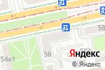 Схема проезда до компании Алоэ в Екатеринбурге