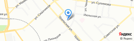 Сервис-ресурс на карте Екатеринбурга