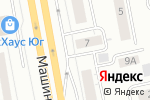 Схема проезда до компании Автоспорт в Екатеринбурге