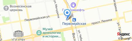 Импульс-Л на карте Екатеринбурга