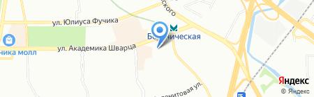 Ассорти на карте Екатеринбурга