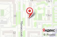 Схема проезда до компании Полет в Екатеринбурге