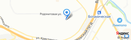 Алиса на карте Екатеринбурга