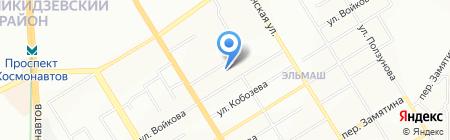 Детский сад №576 Крепыш на карте Екатеринбурга