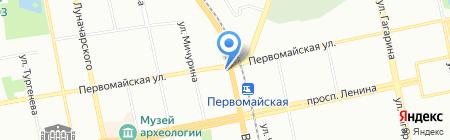 Уральская Газовая Компания на карте Екатеринбурга