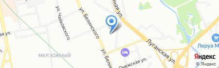 Спарта на карте Екатеринбурга