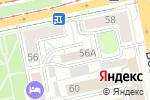 Схема проезда до компании Современные технологии в Екатеринбурге