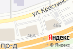 Схема проезда до компании КБ Экорос в Екатеринбурге