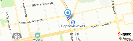 Норд-Транс на карте Екатеринбурга
