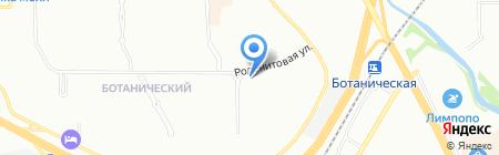Гранд-Принт на карте Екатеринбурга