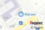 Схема проезда до компании Рафаэль в Екатеринбурге