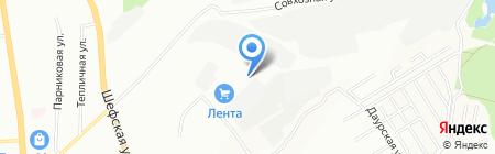 Уралинвест-Авто на карте Екатеринбурга