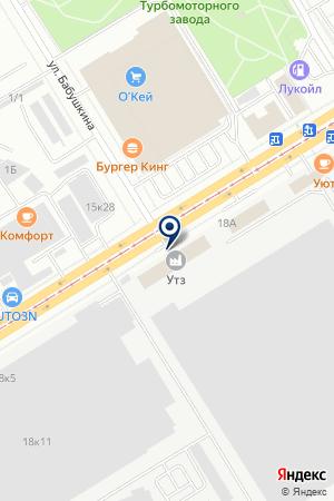 ФрешПринт на карте Екатеринбурга