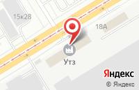 Схема проезда до компании Региональная Уралосибирская Энергомонтажная Компания в Екатеринбурге