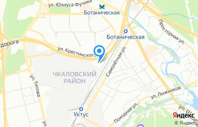 Местоположение на карте пункта техосмотра по адресу г Екатеринбург, проезд Водительский, д 20 стр а