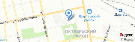 Банкомат Банк Финансовая Корпорация Открытие на карте Екатеринбурга
