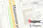 Схема проезда до компании Градиент-Урал в Екатеринбурге