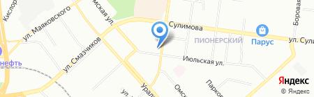 Владимирская Фабрика Дверей на карте Екатеринбурга