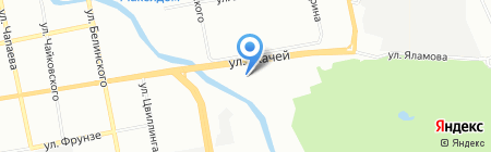 Служба доставки блюд на карте Екатеринбурга