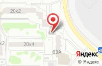 Схема проезда до компании ДименшнАрт в Екатеринбурге