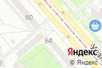 Схема проезда до компании Корея Акум Партс в Екатеринбурге