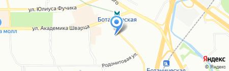 УТК-Стройкомплекс на карте Екатеринбурга